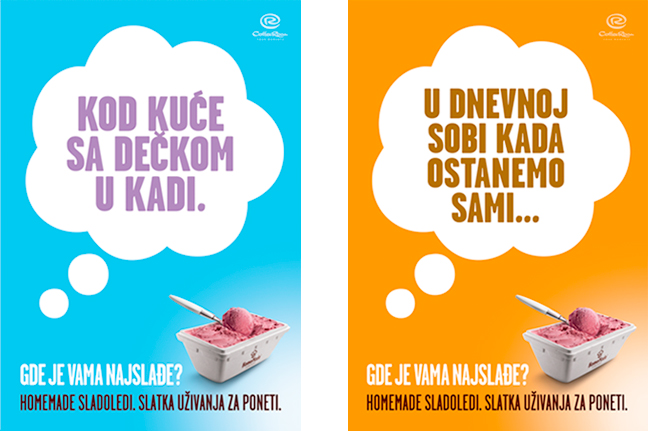 HomeMade Takeaway Icecream Ads 1