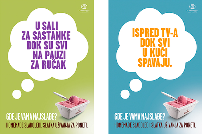 HomeMade Takeaway Icecream Ads 2