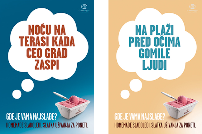 HomeMade Takeaway Icecream Ads 3