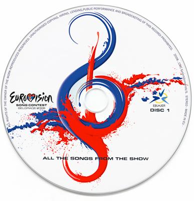 Eurosong 2008 CD