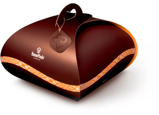 HomeMade Gift Cake Packaging