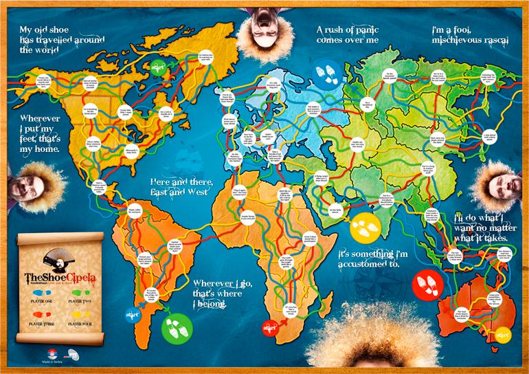 Milan Kon The Shoe Map