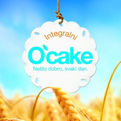O'cake integralni keks. Nesto dobro svaki dan.